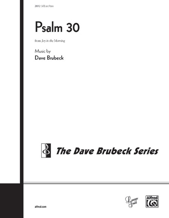 Psalm 30 - Choral