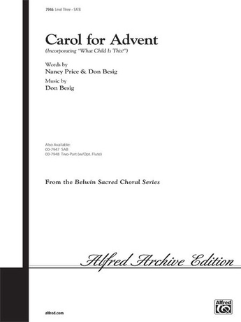 Carol for Advent - Choral