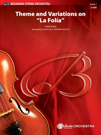 "Theme and Variations on ""La Folía"" - String Orchestra"