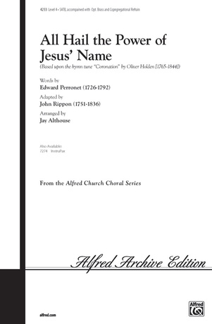 All Hail the Power of Jesus' Name - Choral