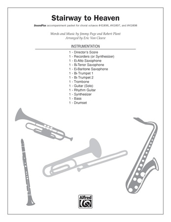 Stairway To Heaven Trumpet 1 Led Zeppelin Choral Pax Sheet Music