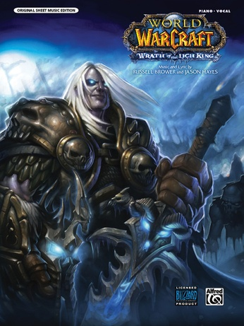 "Wrath of the Lich King (Main Title) (from ""World of Warcraft: Wrath of the Lich King"") - Piano/Vocal/Chords"