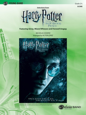 Harry Potter and the Half-Blood Prince, Selections from - Concert Band