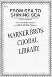 From Sea to Shining Sea - Choral