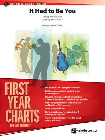 It Had to Be You: Guitar Chords: Isham Jones | Jazz Ensemble Sheet Music