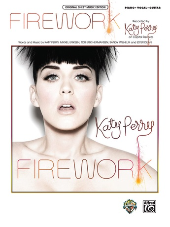 Firework Katy Perry Pianovocalchords Sheet Music