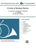 A Suite of Baroque Dances - Concert Band