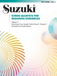 String Quartets for Beginning Ensembles, Volume 3 - String Quartet