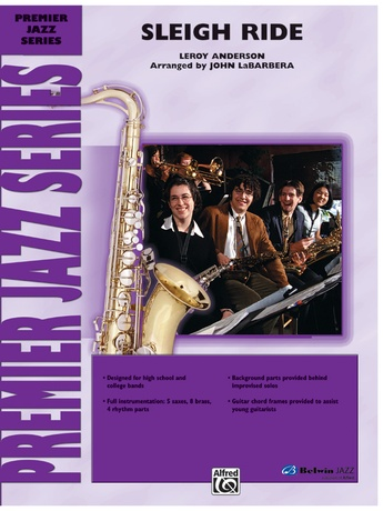 Sleigh Ride: Guitar Chords: Leroy Anderson | Jazz Ensemble Sheet Music