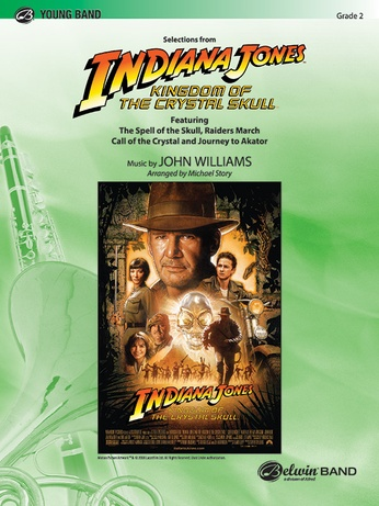 Indiana Jones and the Kingdom of the Crystal Skull, Selections from - Concert Band