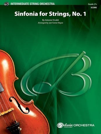 Sinfonia for Strings, No. 1 - String Orchestra