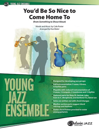 You'd Be So Nice to Come Home To - Jazz Ensemble