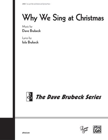 Why We Sing at Christmas - Choral