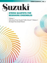 String Quartets for Beginning Ensembles, Volume 1 - String Quartet