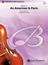 An American in Paris, Highlights from - String Orchestra