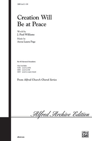 Creation Will Be at Peace - Choral