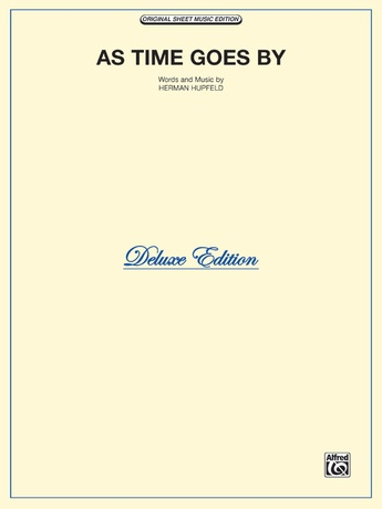 As Time Goes By Herman Hupfeld Pianovocalchords Sheet Music