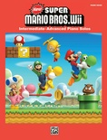 New Super Mario Bros. Wii Toad House - Piano