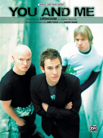 You And Me Lifehouse Pianovocalchords Sheet Music