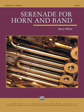 Serenade for Horn and Band - Concert Band