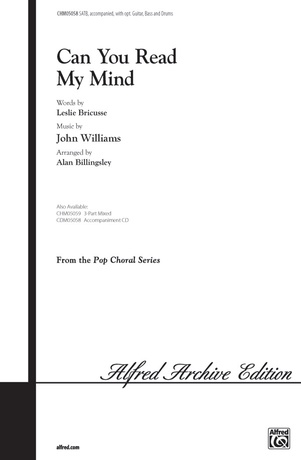 Can You Read My Mind? (from <I>Superman</I>) - Choral