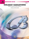 "Holiday Variations (Based on ""God Rest Ye Merry, Gentlemen"") - Concert Band"