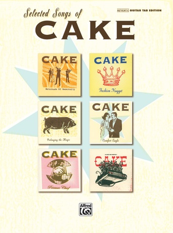 Short Skirt / Long Jacket: Cake | Authentic Guitar TAB Sheet Music