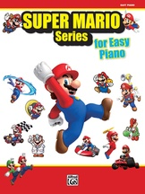 New Super Mario Bros. Wii Desert Background Music - Easy Piano