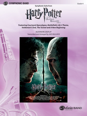 Harry Potter and the Deathly Hallows, Part 2, Symphonic Suite from - Concert Band