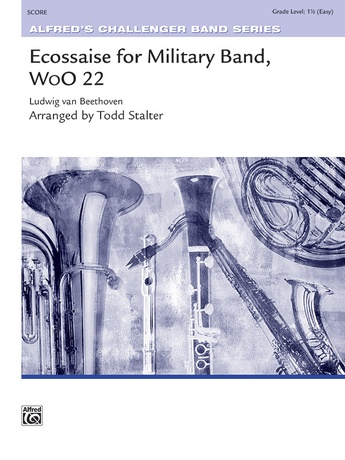 Ecossaise for Military Band, WoO 22 - Concert Band