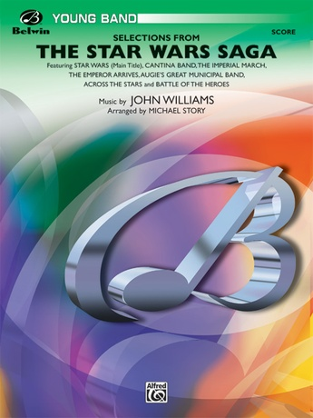 The Star Wars® Saga, Selections from - Concert Band