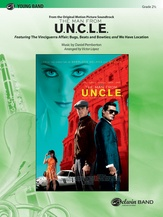 The Man from U.N.C.L.E. (from the Original Motion Picture Soundtrack) - Concert Band