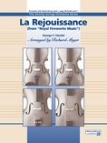 "La Rejouissance from the ""Royal Fireworks Music"" - String Orchestra"