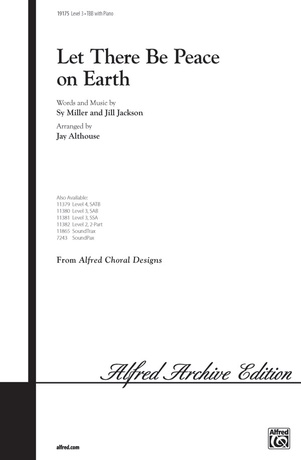 Let There Be Peace on Earth - Choral